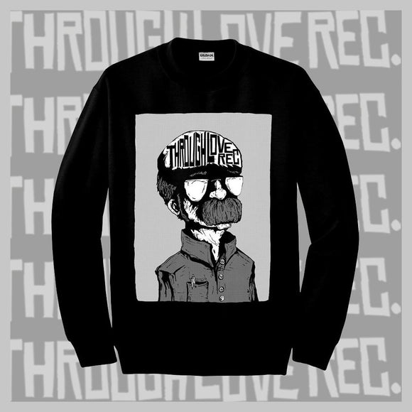 THROUGH LOVE REC SWEATER