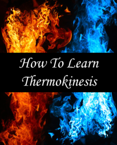 How to learn Thermokinesis