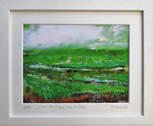Load image into Gallery viewer, Limited edition print of an original Irish landscape painting in oil on  paper by Martina Furlong affordable art