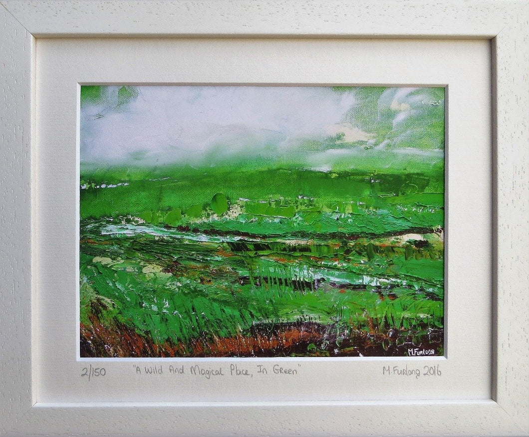 Limited edition print of an original Irish landscape painting in oil on  paper by Martina Furlong affordable art