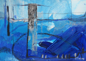 Abstract Ireland - Study In Blue II