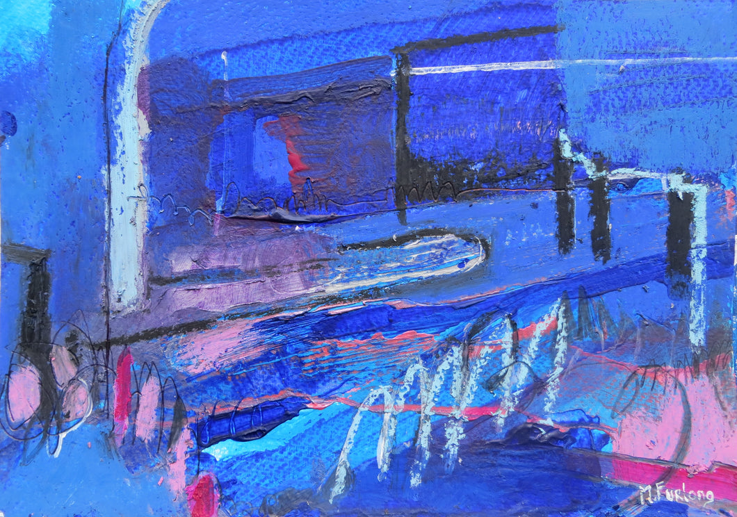Abstract Ireland - Study In Blue I