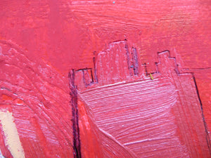 Abstract Ireland - Study In Red #3