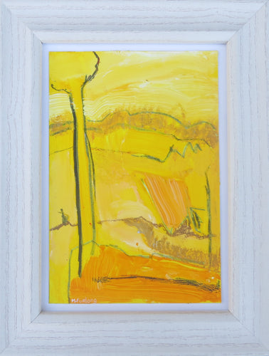 Abstract Study In Yellow II