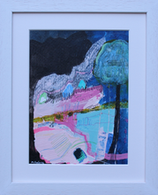Load image into Gallery viewer, Guided By The Warmest Light 2  - mixed media on paper (framed)