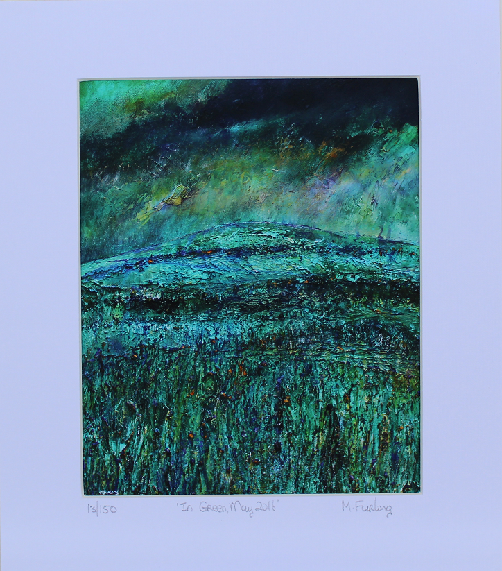 In Green, May 2016 - Limited Edition Print (H20xW15cm/H30xW25cm)