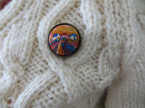 One Colourful Day (Brooch)