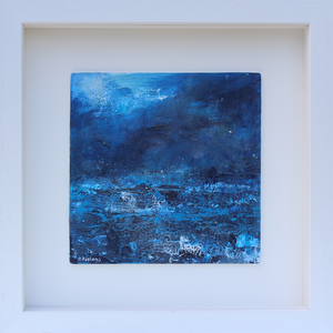 Blue Seascape Painting by Contemporary Irish Artist Martina Furlong