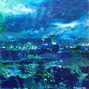 Seascape In Blue And Green 2019