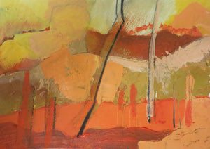 Abstract Ireland - Study In Orange 3
