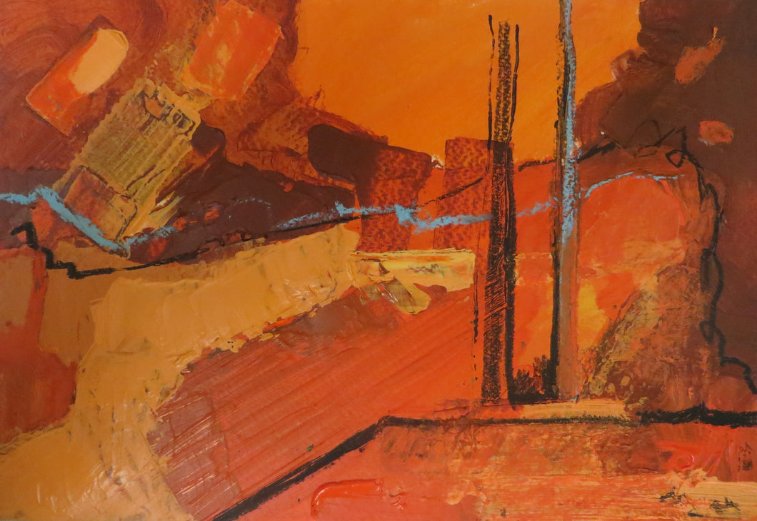 Abstract Ireland - Study In Orange 4