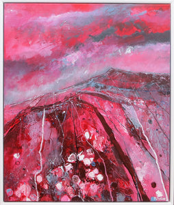 The Second Trail Of The Red Man - original acrylic painting on canvas (H60xW50cm)