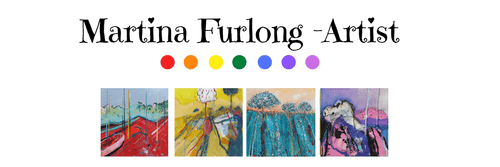 Martina Furlong - Contemporary Abstract and Landscape Artist gift card Gift Cards Irish art Colourful paintings