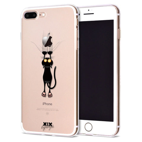Funda Iphone Gato Arañando