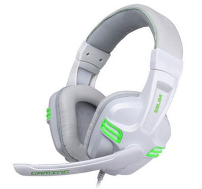 Auriculares Gaming PC Negro - Blanco