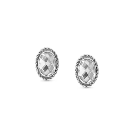 Nomination CZ Stud Earrings