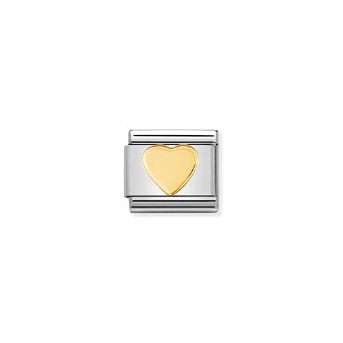 Nomination Gold Heart Charm