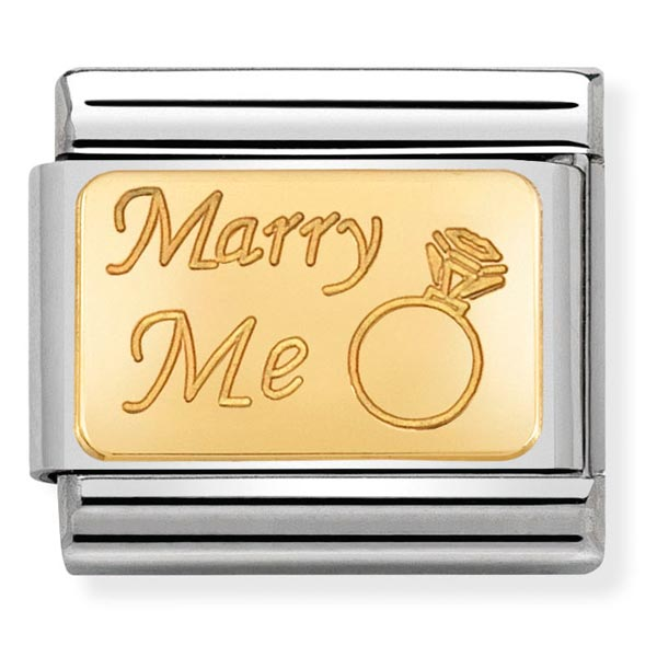Nomination Marry Me Charm