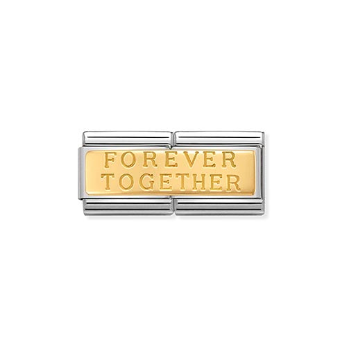 Nomination Double Length Forever Together Charm