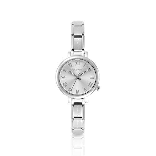 Nomination Silver Round Watch