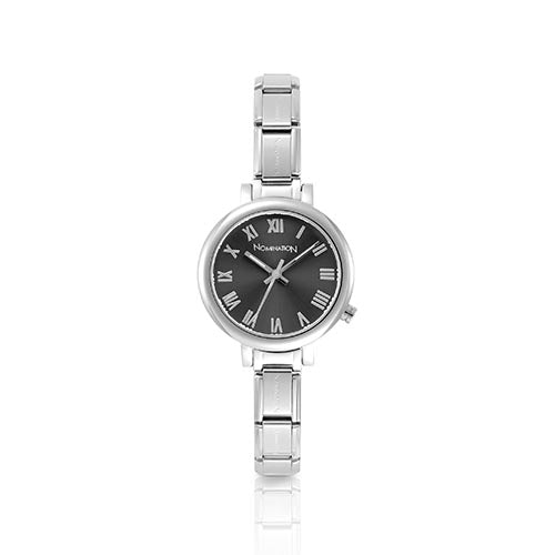 Nomination Grey Round Watch
