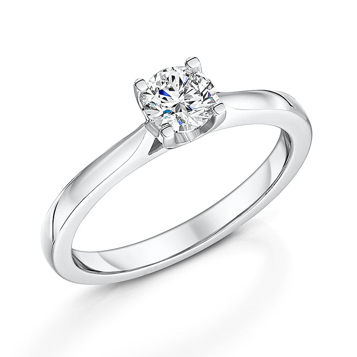 Timeless 4 Claw Diamond Solitaire 0.50cts