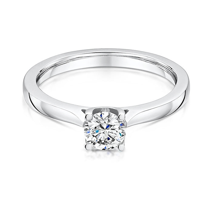 Timeless 0.50ct diamond in a Platinum mount