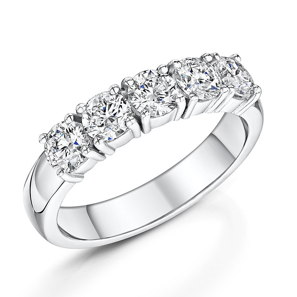 Brilliant Cut Diamond Eternity Ring 1.30cts