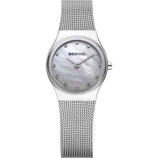 Bering Ladies Stainless Steel Crystal Watch