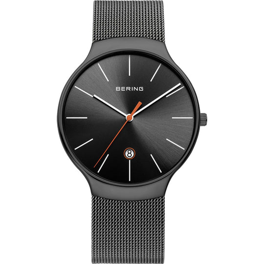 Bering Gents Stainless Steel Grey Watch