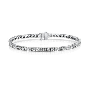 White Gold Diamond Bracelet 1.00cts
