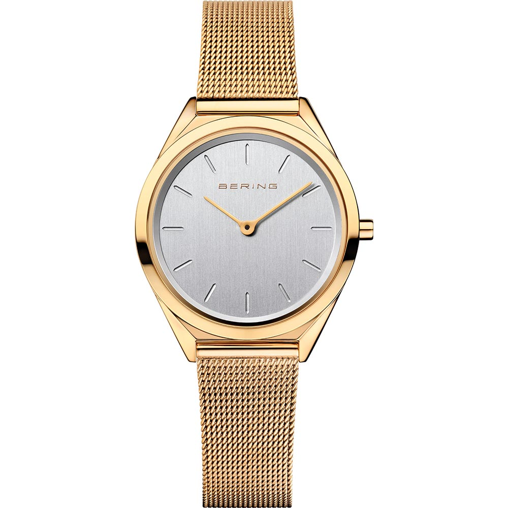 Bering Ladies Stainless Steel Ultra Slim Watch