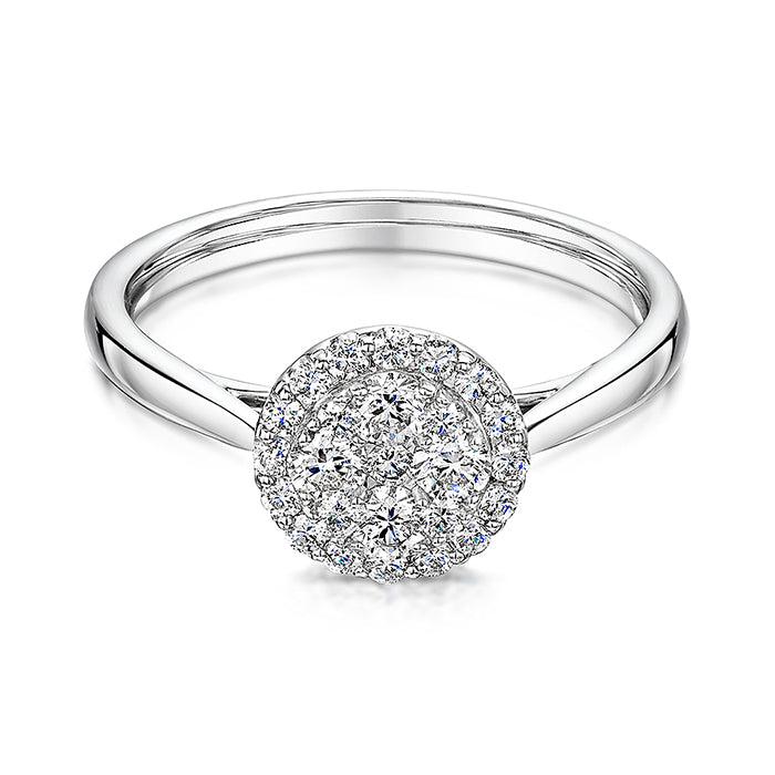 Brilliant Cut Diamond Engagement Ring 0.50cts