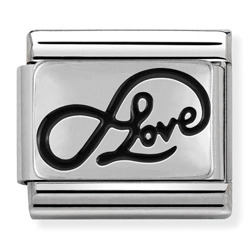 Nomination Infinity Love Charm