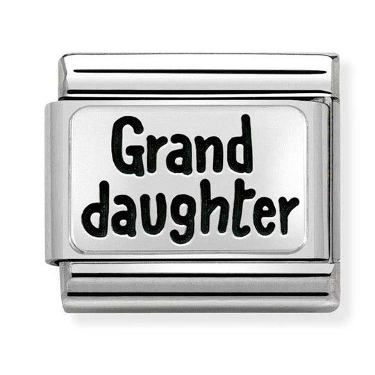 Nomination Granddaughter Charm