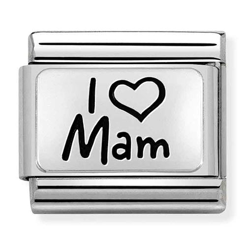 Nomination Limited Edition I Love Mam Charm