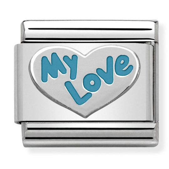 Nomination Enamel My Love Heart Charm