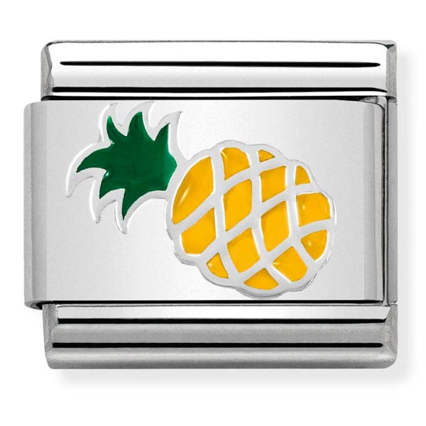 Nomination Enamel Pineapple Charm