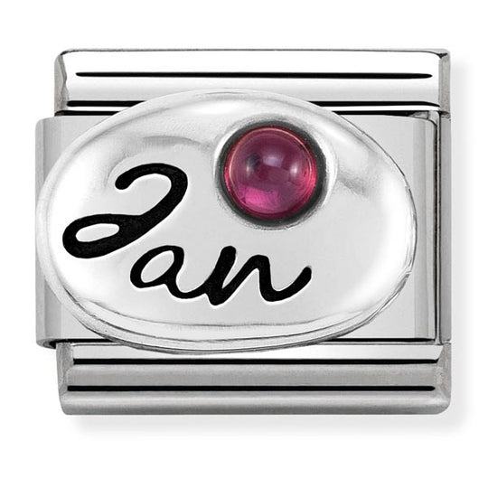 Nomination January Birthstone Charm