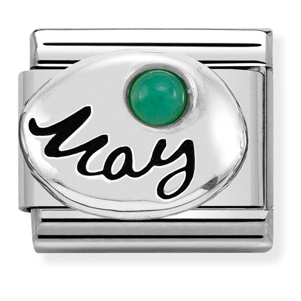 Nomination May Birthstone Charm