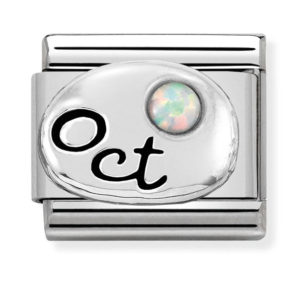 Nomination October Birthstone Charm