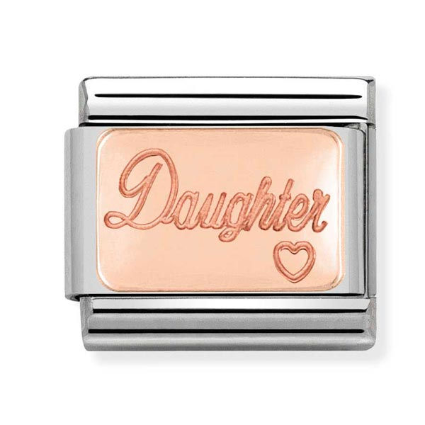 Nomination Daughter Charm