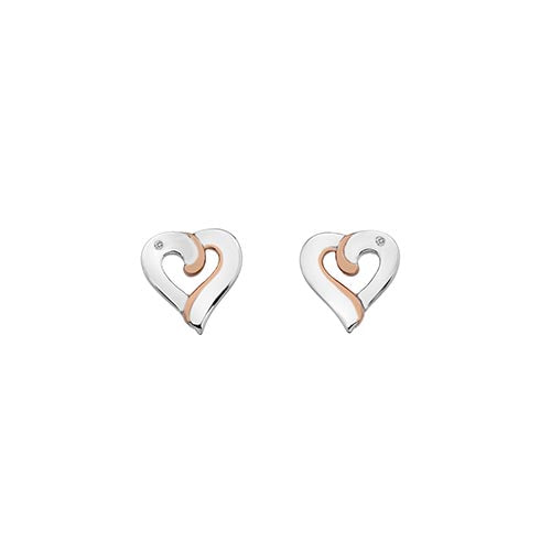 Hot Diamonds Two Colour Together Earrings