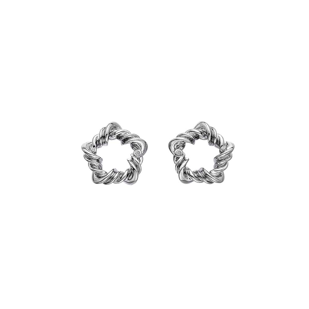 Hot Diamonds Vine Earrings