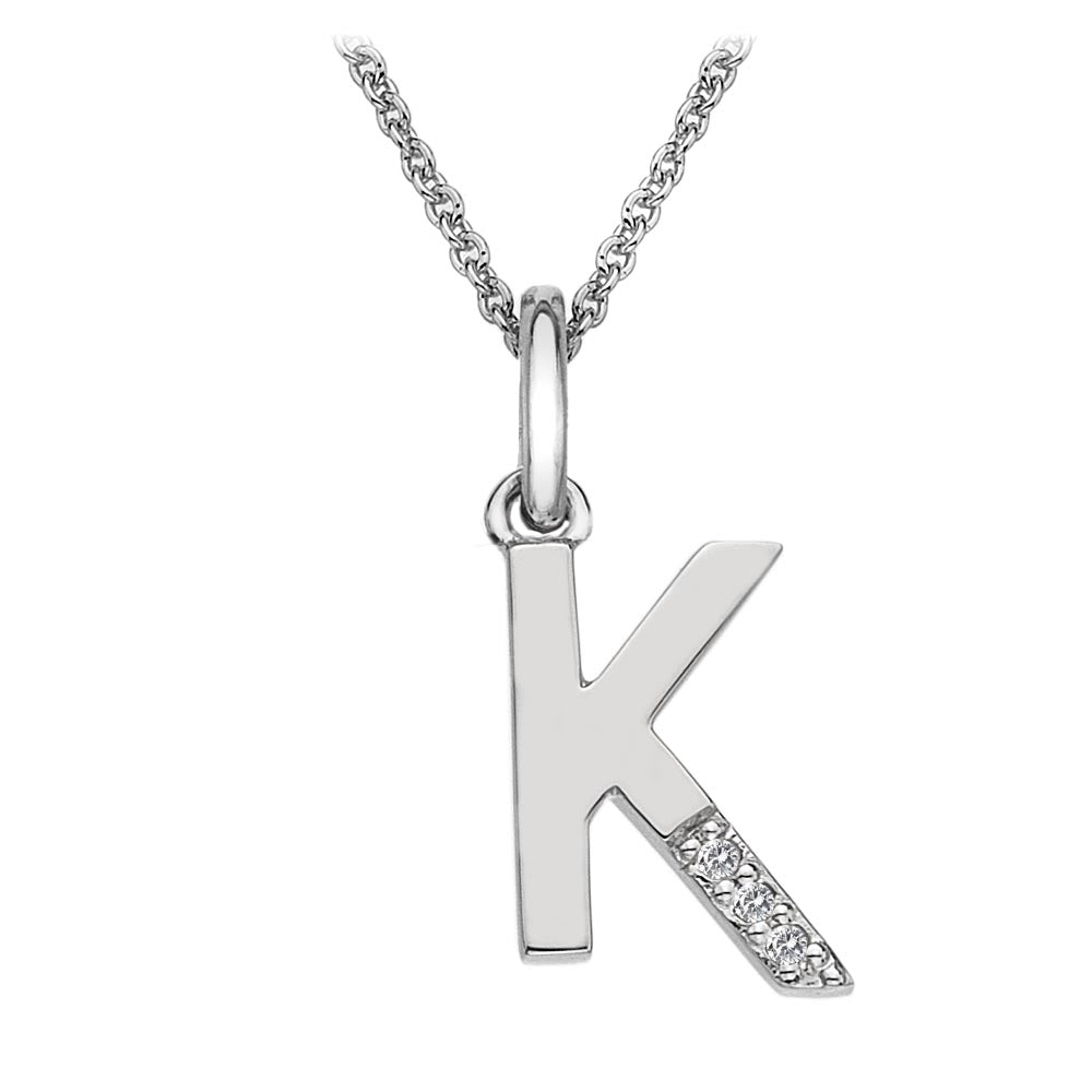 Hot Diamonds Letter K Pendant