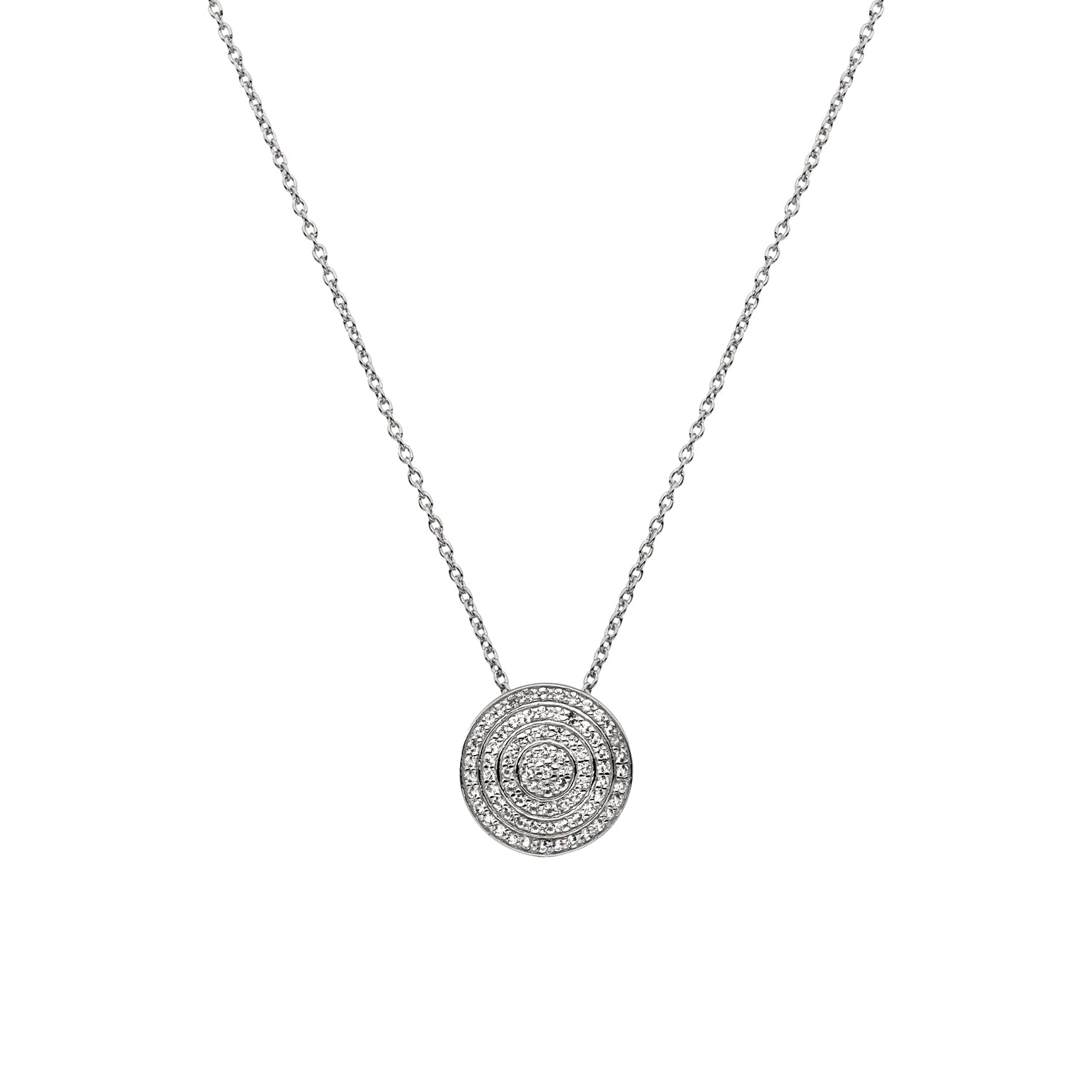 Hot Diamonds White Topaz Engaging Pendant