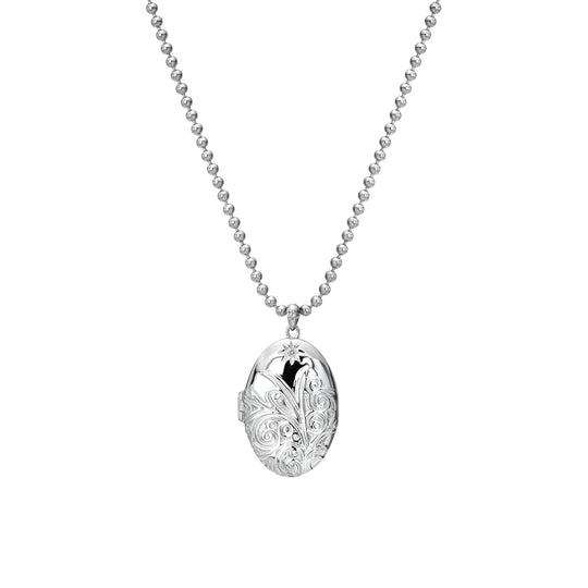 Hot Diamonds Engraved Memories Locket