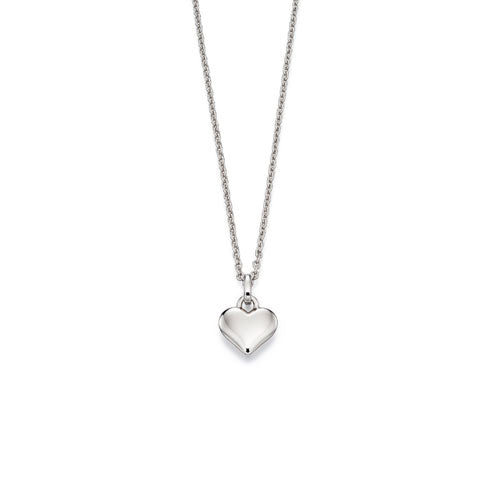 Mia-Small Heart Pendant & Chain