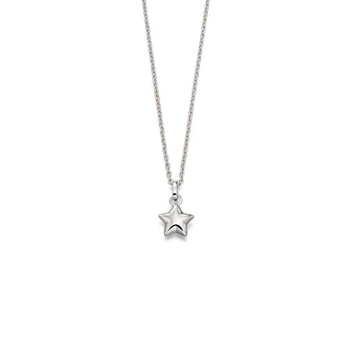Eva-Small Star Pendant & Chain
