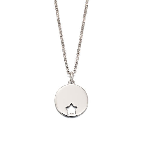 Gia-Adult Star Pendant & Chain